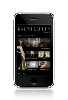 RALPH LAUREN ON YOUR IPHONE