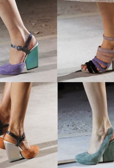 Dries van Noten: Pastel Footwear for Spring 2011
