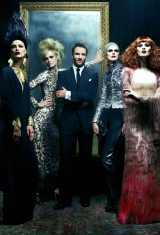 First Images of Tom Ford's Spring 2011 Womenswear Collection Hit Newsstands