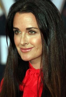 Demi Moore and Kyle Richards, Separated at Birth!