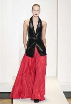 Nicole Farhi Fall 2011 Runway Review