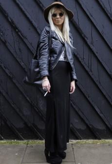 London Fashion Week Fall 2011: Street Style