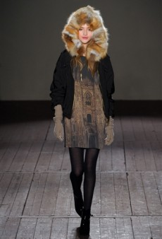 Moschino Cheap and Chic Fall 2011 Runway Review