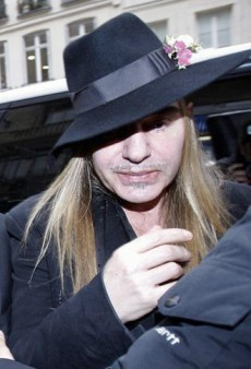 John Galliano Fired From Dior, Headed to Rehab