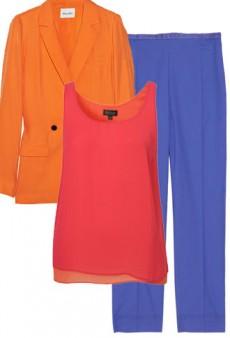 Spring Shopping: Affordable Color Blocking Basics