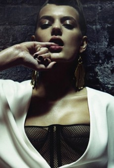 Model Bregje Heinen Stops by The Fashion Spot Forums