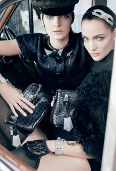 Louis Vuitton's Fall Ad Campaign Has Puppies, Fur; Beyonce Runs the World in Style [VIDEO]