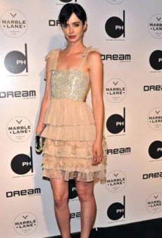Krysten Ritter's Favorite Dress Ever and Other Celeb Twitpics of the Week