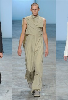 Rick Owens Thinks Men Should Don Dresses