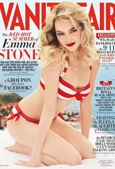Emma Stone Gets Red Hot for Vanity Fair (Forum Buzz)