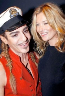 Confirmed: Kate Moss is Getting Married in John Galliano