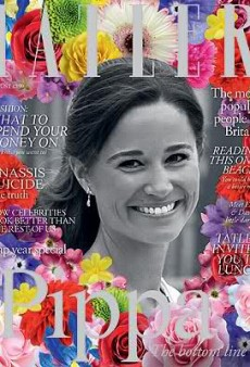 Tatler's Creepy Pippa Collage Cover (Forum Buzz)