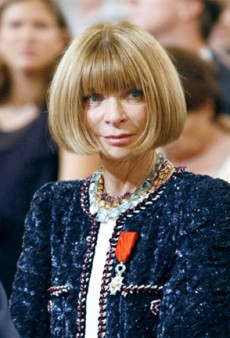 Anna Wintour Recieves the Legion d'Honneur Award