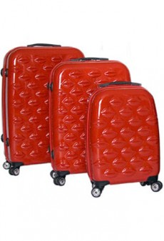 Lulu Guinness Launches Signature Luggage Collection