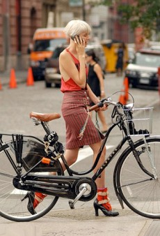 A New Way for NYFW Attendees to Kick the Cab Habit: Bikes