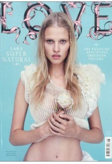 Lara Stone and Other LOVE Magazine Covers