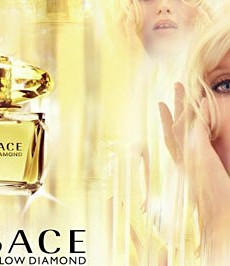 Abbey Lee Kershaw for Versace's Yellow Diamond Fragrance (Forum Buzz)