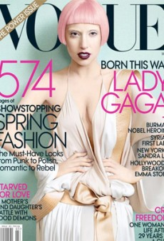 Lady Gaga Sold 100K More Vogue Issues than Tina Fey