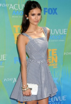 Get the Look: Nina Dobrev's Sweet Gingham Look