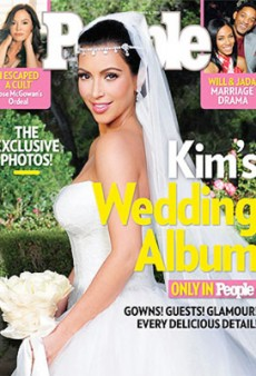 Kim Kardashian Cover is a Big, Big Success for People Magazine