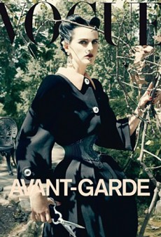 A Wasp-Waisted Stella Tennant Covers Vogue Italia's September Issue (Forum Buzz)