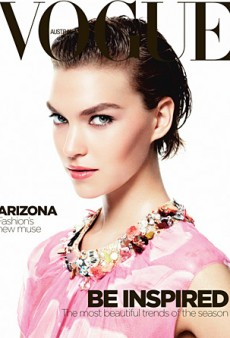 Arizona Muse Does a Triple Take for Vogue Australia's October Issue (Forum Buzz)