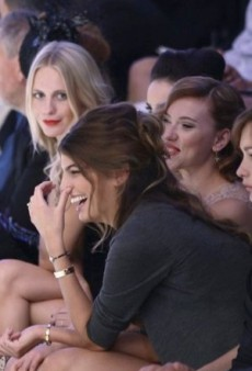 Front Row at Milan Fashion Week, Spring/Summer 2012