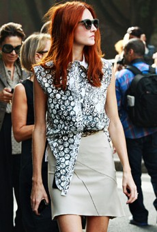 Editor Street Style: Milan Spring 2012 Fashion Week (Forum Buzz)