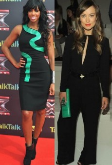 Celebrity Trendspotting: Jade and Black for Fall