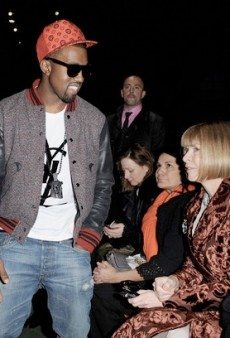 Anna Wintour Doesn't Want to Talk About Kanye; Anna Dello Russo Wore Kanye