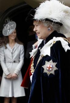 What's Standing Between Duchess Kate and Vogue? Queen Elizabeth.