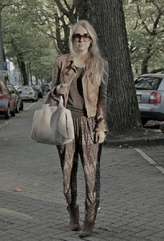 Forum Street Style: Draping on the Layers