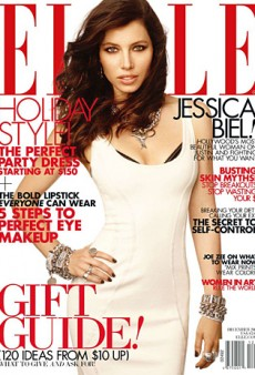 Jessica Biel Covers the December Issue of Elle (Forum Buzz)