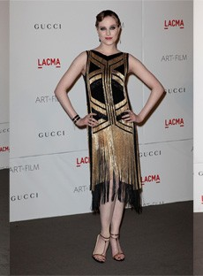 Zoe Saldana, Camilla Belle, Evan Rachel Wood All Wore Beaded Gucci to the LACMA Awards