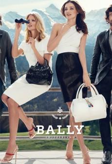 Miranda Kerr & Julia Stegner Star in Bally's Spring 2012 Campaign