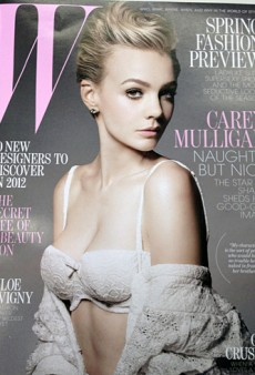 Carey Mulligan Covers W's January 2012 Issue (Forum Buzz)