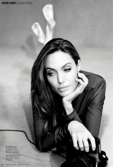 Inside Angelina Jolie's Marie Claire Editorial Spread and Interview