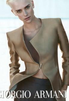Milou Van Groesen Makes Giorgio Armani Desirable (Forum Buzz)
