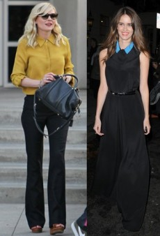 Buttoned Up: How Celebs Wear Blouses