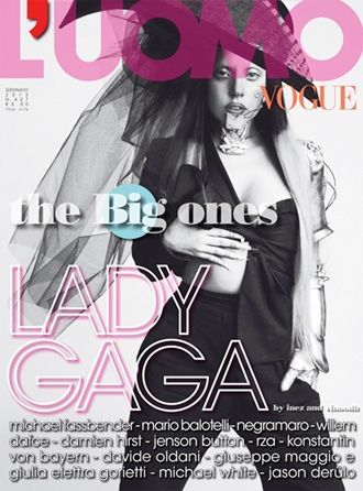 Lady Gaga for Vogue L'Uomo
