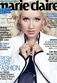 Christina Aguilera's Marie Claire Cover is a Pleasant Surprise (Forum Buzz)