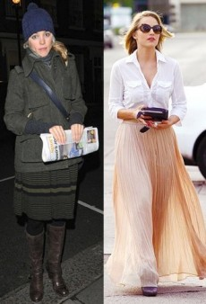 Get the Celeb Look: Pleated Skirts