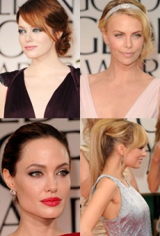 Golden Globes 2012: Best of Beauty