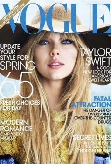 Taylor Swift for Vogue's February Issue