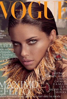Yes or No to Adriana Lima's Vogue Brazil Cover? (Forum Buzz)