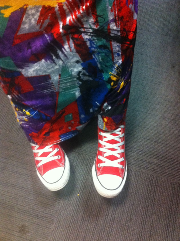 Show Us Your Red: Chucks