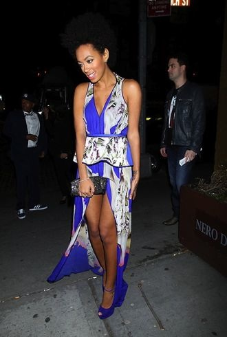 Solange Knowles Runway to Win Launch Event New York City cropped
