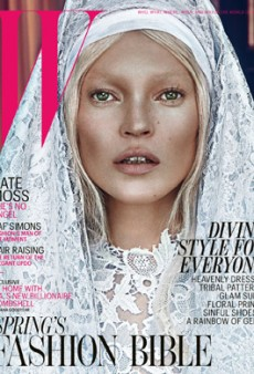 Kate Moss is Epic (As Usual) on W's March 2012 Covers (Forum Buzz)