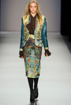 Nicole Miller Fall 2012 Runway Review
