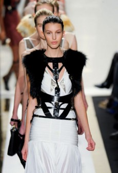 Herve Leger Fall 2012 Runway Review